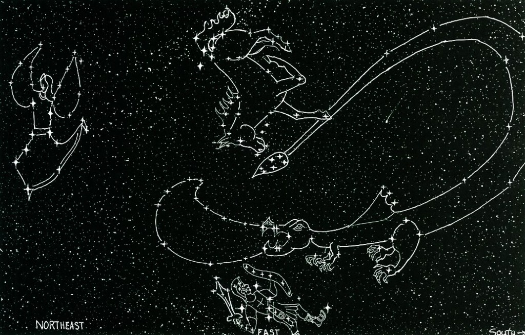 Winter Biblical Constellations www.signsofheaven.org. share-alike license