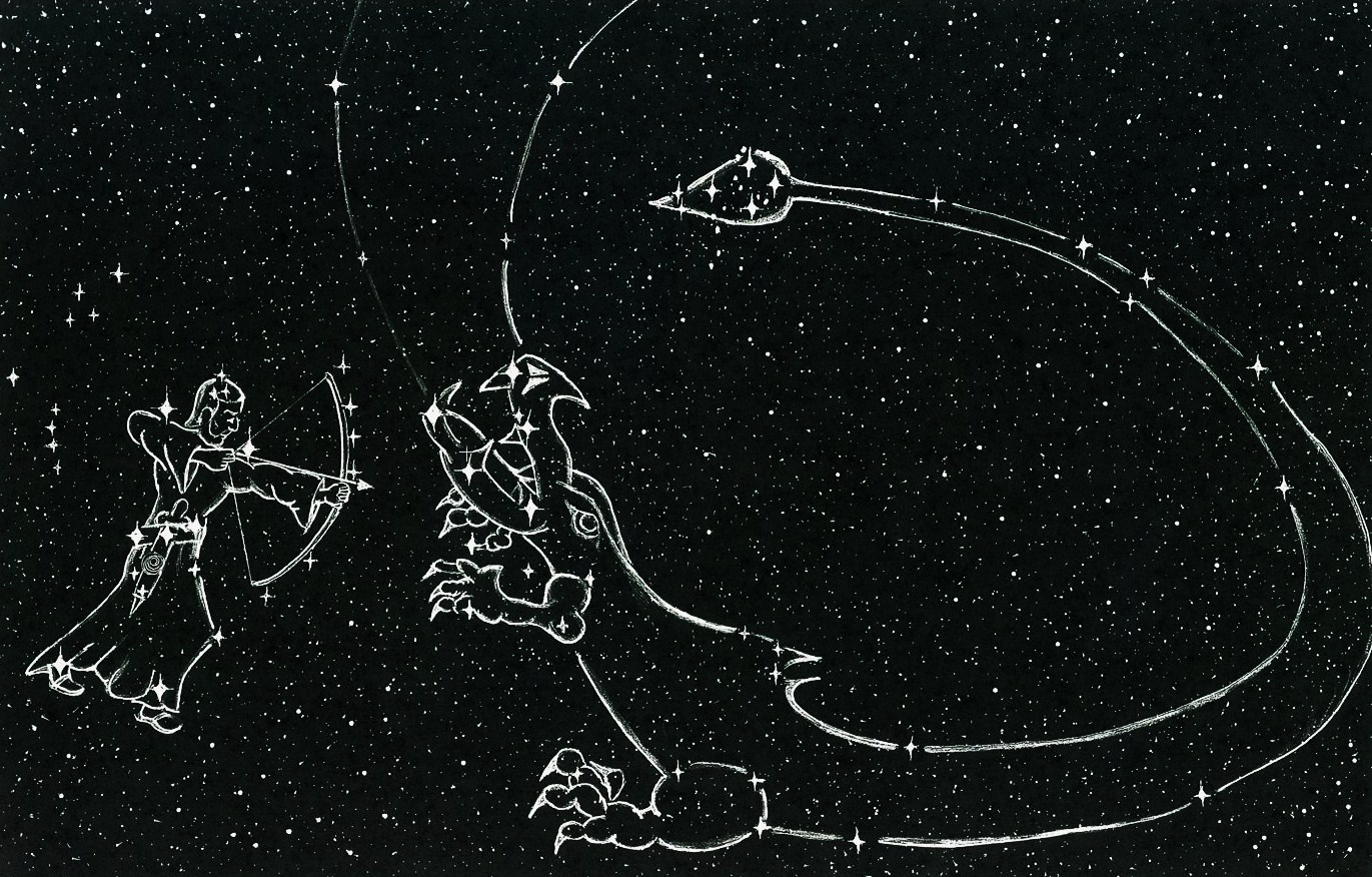 Orion Constellation Drawing Archive The Archer