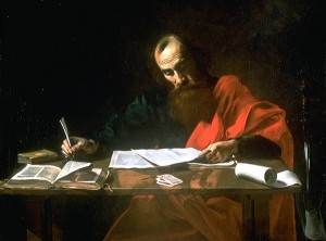 Paul the Apostle-Artist-Valentin de Boulogne or Nicolas Tournier- circa 1500s