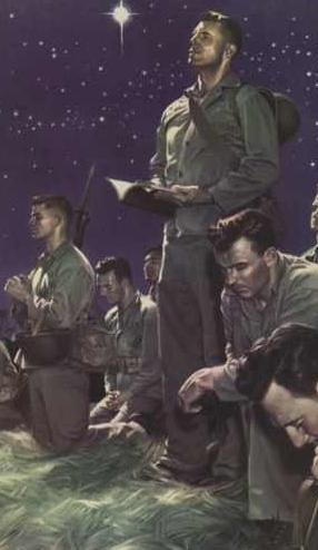 https://commons.wikimedia.org/wiki/File:Marines_at_Prayer_by_Alex_Raymond.jpg