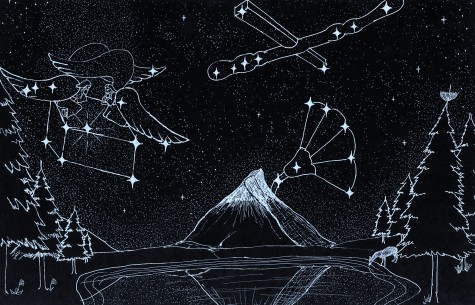 Ark of the Covenant & Cross/Scepter & Flower of the Field Constellations-you may share