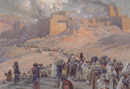 http://en.wikipedia.org/wiki/File:Tissot_The_Flight_of_the_Prisoners.jpg