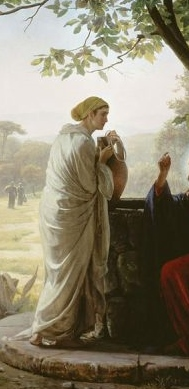 http://en.wikipedia.org/wiki/File:Carl_Heinrich_Bloch_-_Woman_at_the_Well.jpg