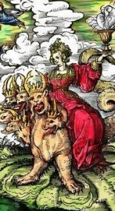http://commons.wikimedia.org/wiki/File:Burgkmair_whore_babylon_color.jpg